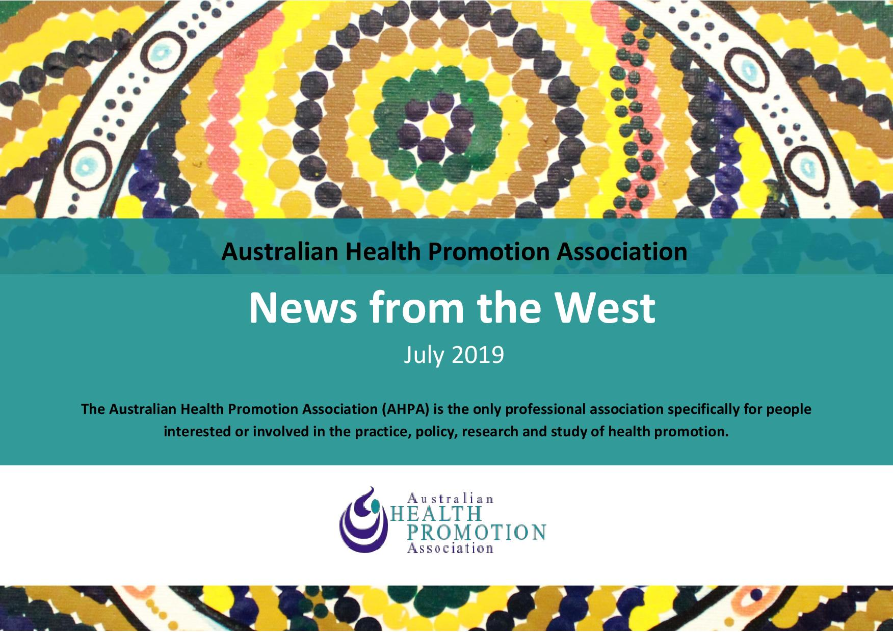 AHPA News from the west July 2019 page 001